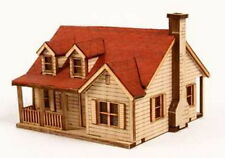 Western House B Wooden Model DIY Style Kit Set Penthouse Western-Type Package