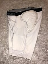 Men's Nike Team Fit Dry Integrated Football Girdle Shorts Padded Size XXL White
