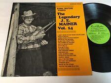 The Legendary J.E. Mainer Vol. 14 LP - Bluegrass