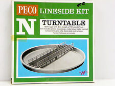"PECO LINESIDE N SCALE U/A ""TURNTABLE"" PLASTIC MODEL KIT #NB-55"