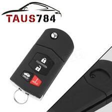 For Mazda 3 2010 2011 2012 2013 Keyless Car Flip Remote Key Fob Transmitter