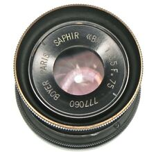 Boyer 75mm f3.5 Saphir Nikon SLR mount  #777060