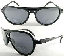RARE & VINTAGE MOMO DESIGN UNISEX SUNGLASSES, 100% alluminio, Black/Grey-Top