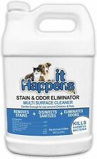 Dog & Cat Odor & Stain Eliminator Remover Multi Surface Cleaner 1 Gallon Hi-9128