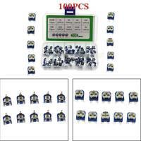 100Pcs 10 Valore Rm065 1K Ohm Trim Trimmer Del Potenziometro Pot IT