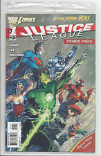 JUSTICE LEAGUE #1 3rd PRINT COMBO PACK FACTORY SEALED DC NEW 52 2011 NM