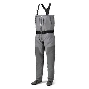 NEW ORVIS PRO ZIPPER FISHING WADERS SIZE MEDIUM - BUILT FOR PROFESSIONAL GUIDES