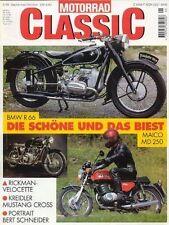 MC9905 + BMW R 66 + MAICO MD 250 + O.D. mit MAG-Motor + MOTORRAD CLASSIC 5 1999