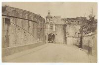 España Hondarribia Vasco Vintage Albúmina Albuminada 12x19 Aprox 1880