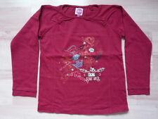 Tee-shirt manches longues 6 ans bordeaux Kitiwatt - comme NEUF juste lavé