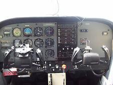 Cessna 172 upper panel (custom, designs fit 1971 to 1986 models)