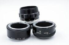Micro Macro Nikon NIKKOR Auto 55mm F/3.5 Manual Lens w/ PK-13 & M Ext. NON-AI