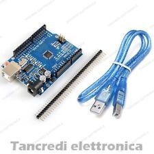 SCHEDA UNO Rev3 ATmega328 CH340 (Arduino-compatibile) BARRA PIN cavetto USB R 3