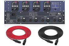 Manley Force | 4 Channel Microphone Preamplifier | Pro Audio La
