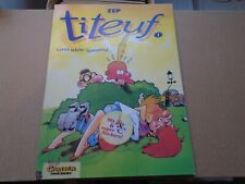 ZEP TITEUF - Ganz Schon Spannend DUTCH LANGUAGE Comic Album 1990