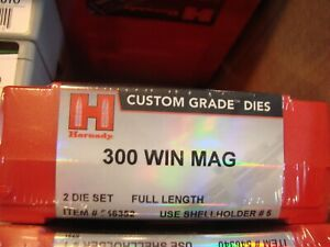 Hornady Custom Grade 300 WIN MAG FL 2 Die Set 546352 NEW
