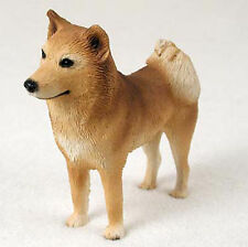 Finnish Spitz Figurine Hand Painted Statue