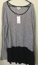 Seed Heritage Striped Regular Size Tops for Women