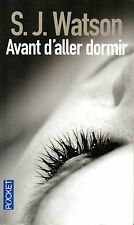 AVANT D'ALLER DORMIR - S.J. WATSON - EXCELLENT ETAT
