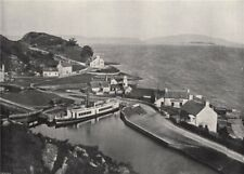 CRINAN. The western terminus of the canal, and the Sound of Jura. Scotland 1895