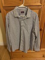 UNTUCKit Men's Long Sleeved Wrinkle Free Shirt Size XL