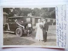 Foto-AK USA Hochzeit PKW Ford? 1930