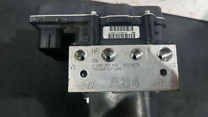 Pompa Centralina ABS Opel Corsa D 0265251190 0265951440 13321075 BOSCH 06-14 ESP