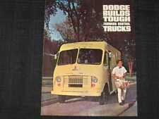 1965 Dodge Forward Control Trucks Folder Sales Brochure