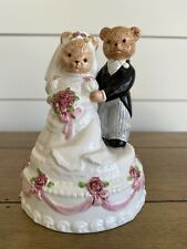 San Francisco Music Co Bear Bride/Groom Unchained Melody
