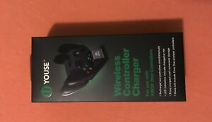 Youse Wireless Controller charger for Xbox one, two charging slots (New)