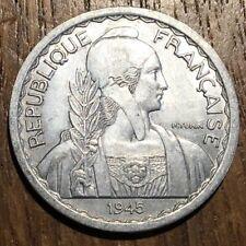 TRÈS BELLE PIECE DE 20 CENTIMES INDOCHINE 1945 C EN ALUMINIUM (579)