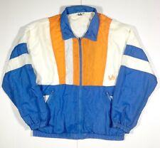 LA Gear Mens Shell Suit Top Retro Fashion XXL 90s Zip Up Vintage