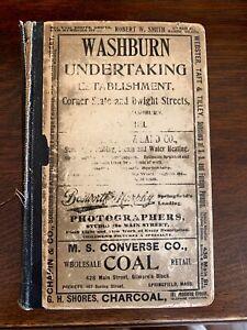 1902 Springfield MA Massachusetts City Directory