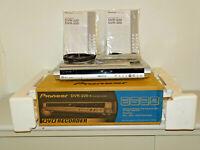Pioneer DVR-220 DVD-Recorder in OVP w.NEU, inkl. FB&BDA, 2 Jahre Garantie