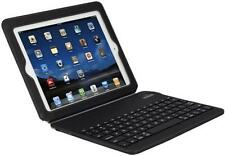 BLUETOOTH LEATHER KEYBOARD PORTFOLIO CASE BUILT IN STAND COVER for iPAD 4 3 2