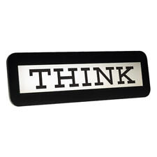 IBM THINK SIGN - IBM Computer Desk Accessory Collectible Executive Student Gift