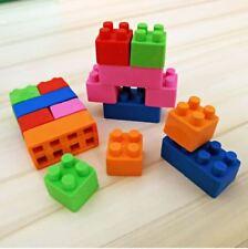 Lego Gomme Brique De Construction Emboîtable Couleurs Variées Carré