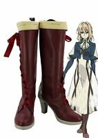 Violet Evergarden Violet Cosplay Shoes Boots Custom Made