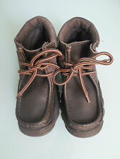 Adams Boys Size EU 33-34 Brown Mix Ankle Boots
