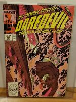 Daredevil #263 Stan Lee Marvel Legend signed Comic Book certified Coa