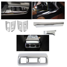ABS Chrome Accessories Interior Kit Cover Trims 7pcs For Toyota Tundra 2014-2019