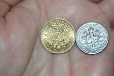 Vintage 1910 22K Solid Gold Austria 10 Coronas Coin Rare Collectible Currency