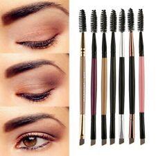 2in1 Wimper-Augenbrauen Pinsel Spiralbürste Eyebrown Brush groß 4 Varianten