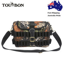 Tourbon Ammo Case Shell Storage Speedloader Bag Hunting Molle Pack Tactical Camo