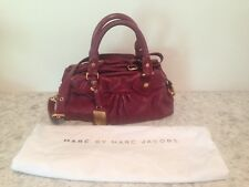 MARC BY MARC JACOBDS LEATHER MEDIUM SATCHEL BAG WITH STRAP