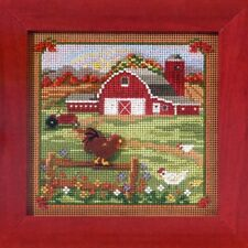 Country Morning Cross Stitch Kit Mill Hill 2013 Buttons & Beads Autumn