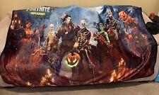 """New FORT NITE Save The World Velvet Plush Blanket 60"""" x 80"""""""