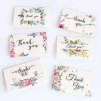 "Envelope Flower ""Thank You"" Cards Gift Message Card DIY Decoration Greeting Card"