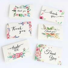 Flower Greeting Cards Holiday Wedding Mother's day Love Blessing Card Envelopes