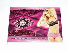 2015 Benchwarmer CAMILLE ANDERSON Pink Archive Diamond #1/1 Wedding Crashers